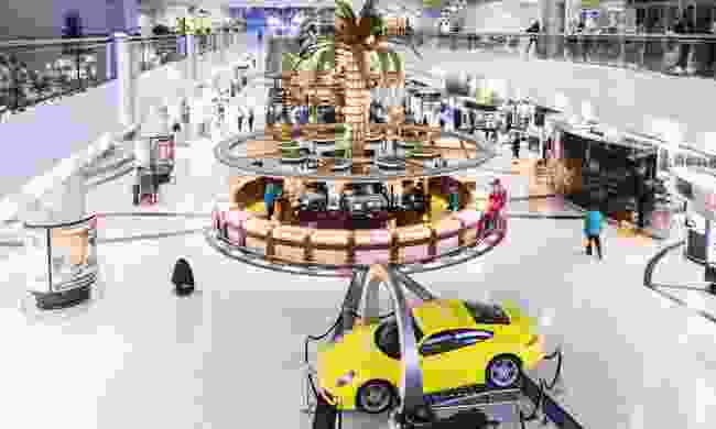 Inside Dubai International Airport (Dreamstime)