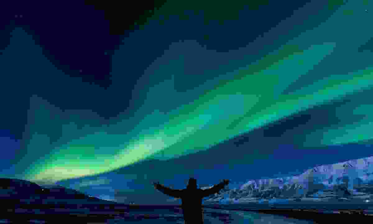 Spot the northern lights overhead in Norway (Dreamstime)