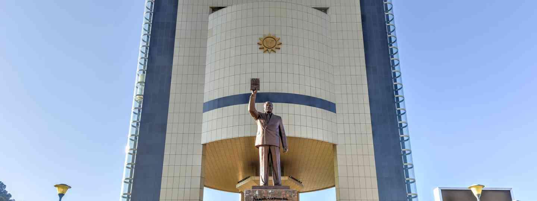 Windhoek statue (Dreamstime)