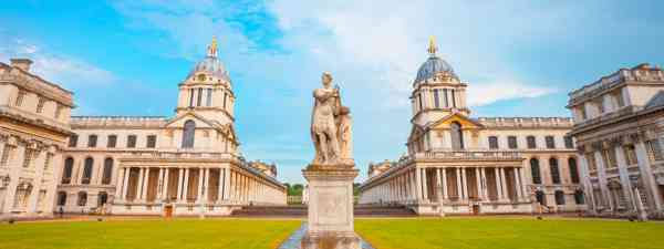 The old Royal Naval College in Greenwich, London is the setting of many famous films (Dreamstime)
