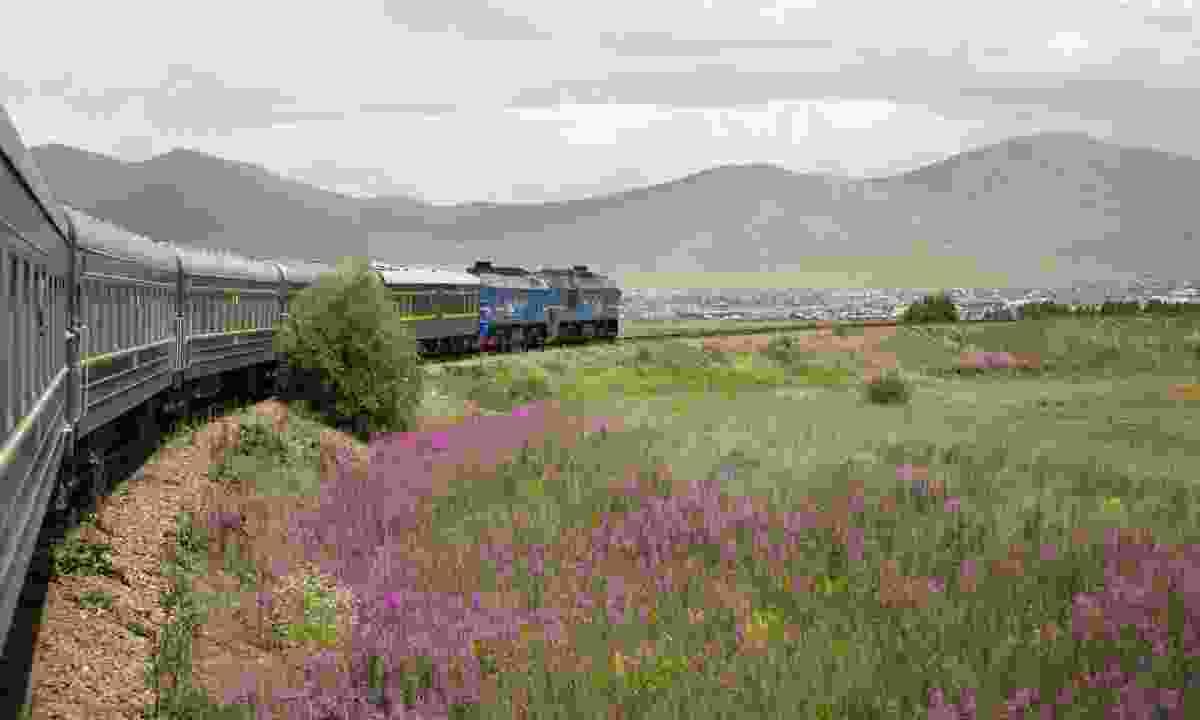 Trans-Mongolian train (Dreamstime)