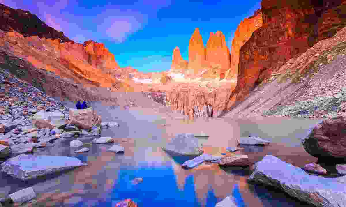 Watch the sun rise over Torres del Paine (Dreamstime)