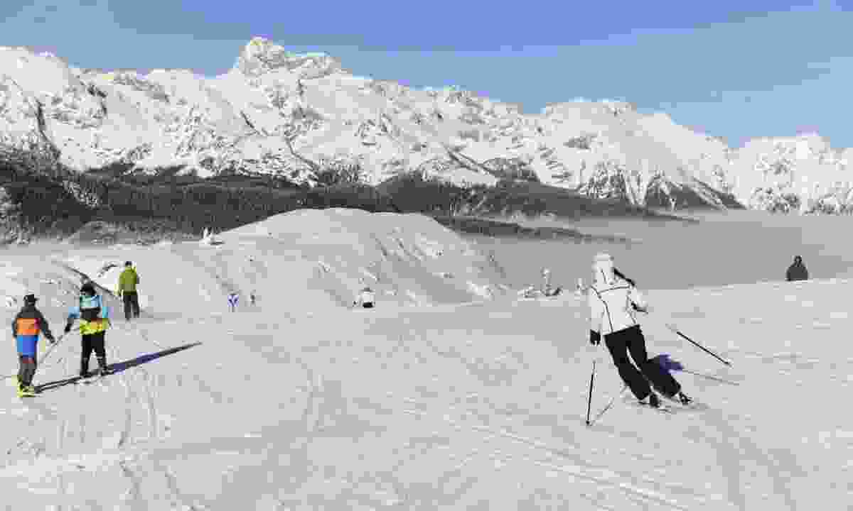 Family ski run (Slovenian Tourist Board)