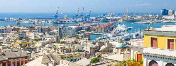 View of Genoa, Liguria, Italy (Shutterstock)