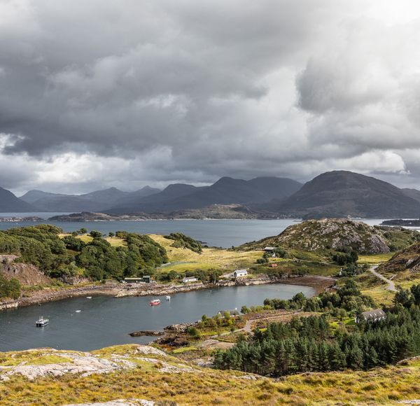 DETOUR TIP: If you are driving from Shieldaig to Applecross (or vice versa), be sure to stop at award winning Applecross Smokehouse. Established in 1998, they sell a range of smoked seafood and cheeses from their shop (or online).