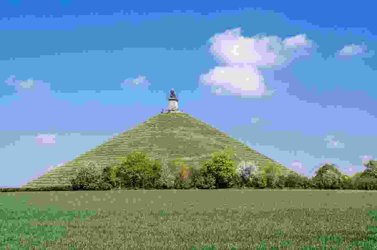 The Lion's Mound, Waterloo, Belgium - where Napoleon was defeated (Shutterstock)