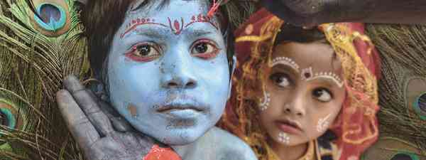 Litte Krishan of West Bengal (Sanghamitra Sarkar)