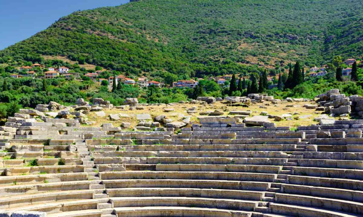 The ruins of the city of Messene (Dreamstime)