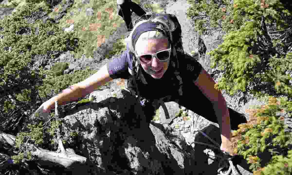 Phoebe Smith trekking outdoors (Wanderlust)