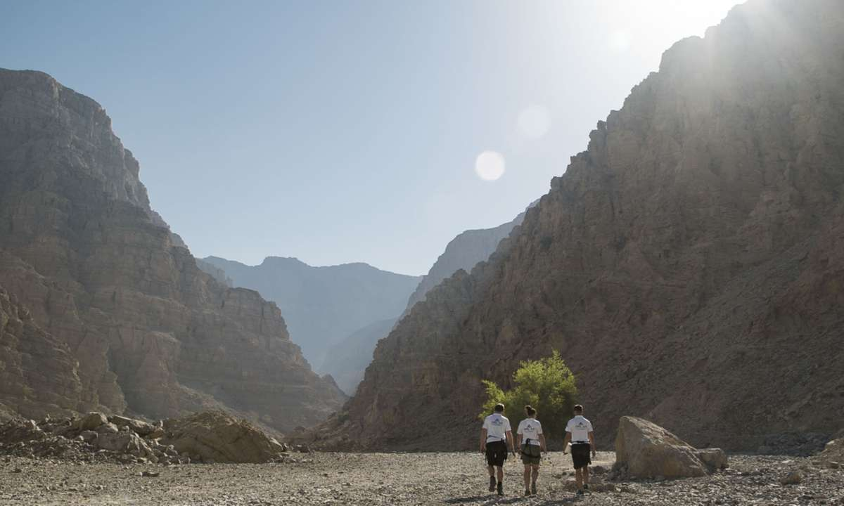 Autumn and winter offer cool temperatures to enjoy outdoor adventures (Ras Al Khaimah Tourist Board)