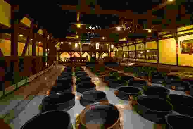 A shochu distillery (P.K.N.)