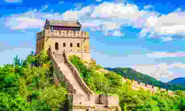 China has opened a small section of the Great Wall of China to visitors (Shutterstock)