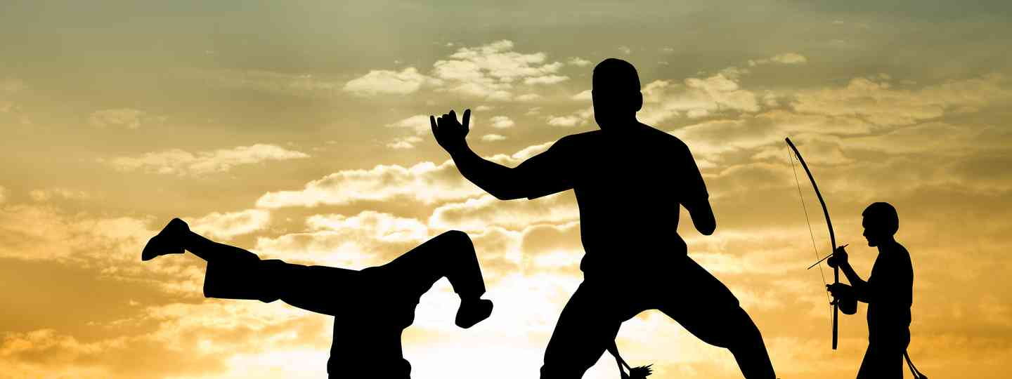 Capoeira at sunset (Shutterstock)