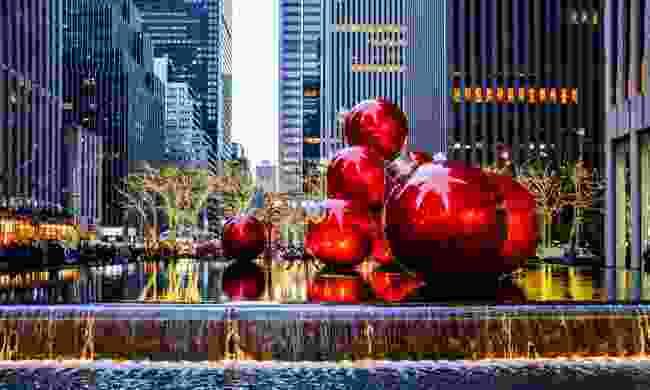 New York at Christmas (Shutterstock)