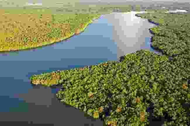 Aerial view of Sarawak (Shutterstock)