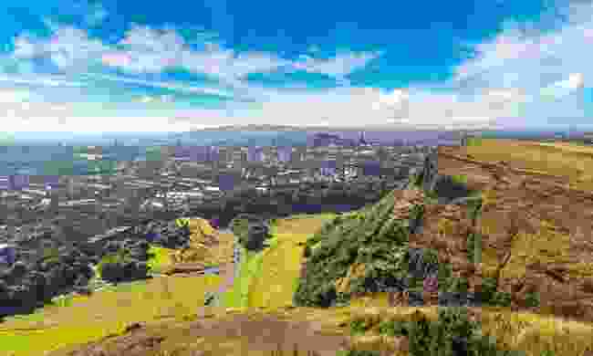 The view from Arthur's seat  (Shutterstock)