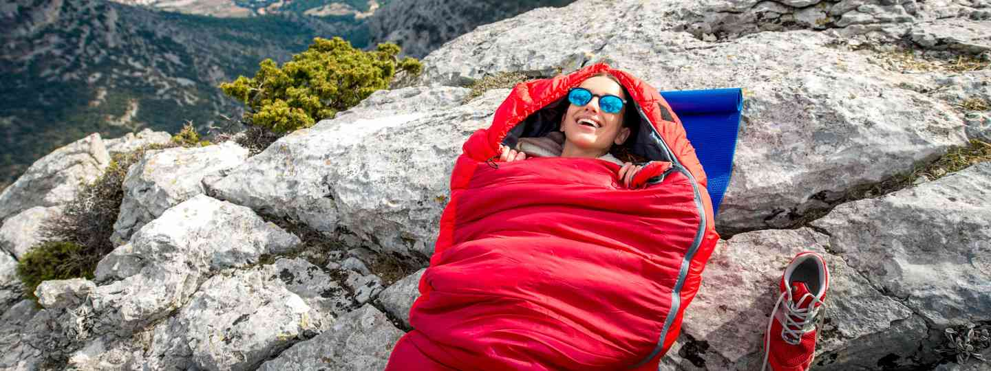 Sleeping in the great outdoors (Dreamstime)