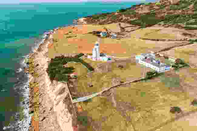 St Catherine's Lighthouse, Isle of Wight (Wightlink)