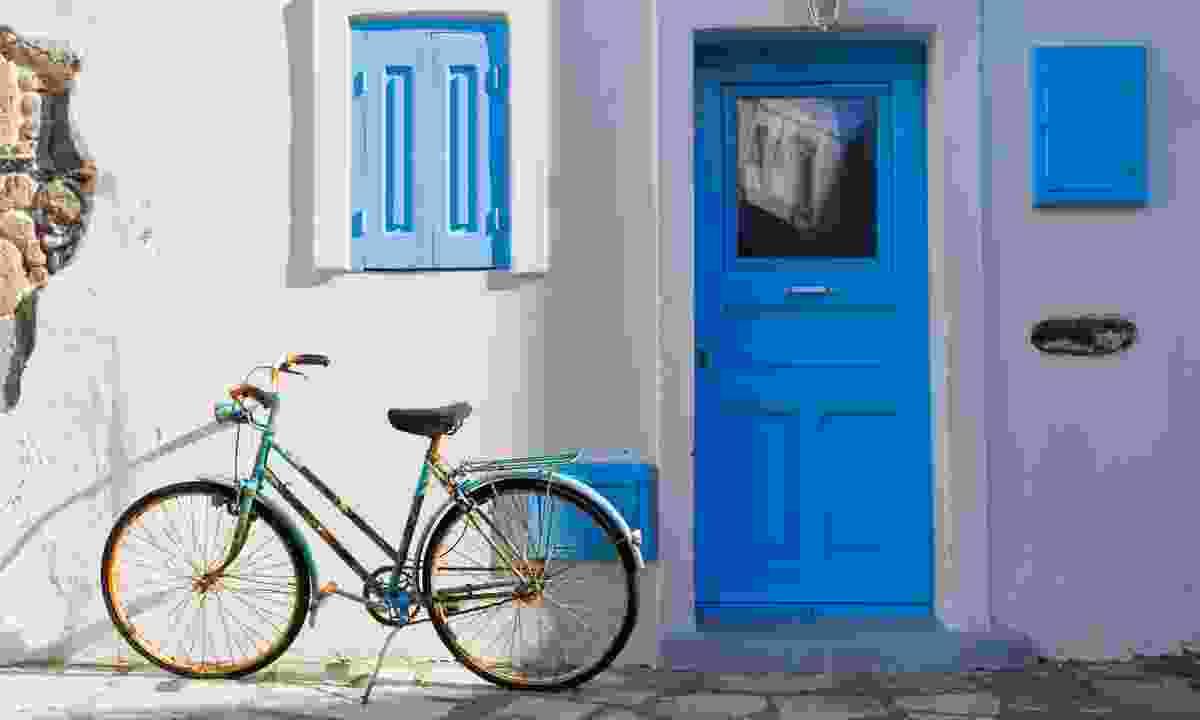 Bicycle in Nisyros (Dreamstime)