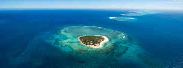 Tavarua Aerial (Tourism Fiji)
