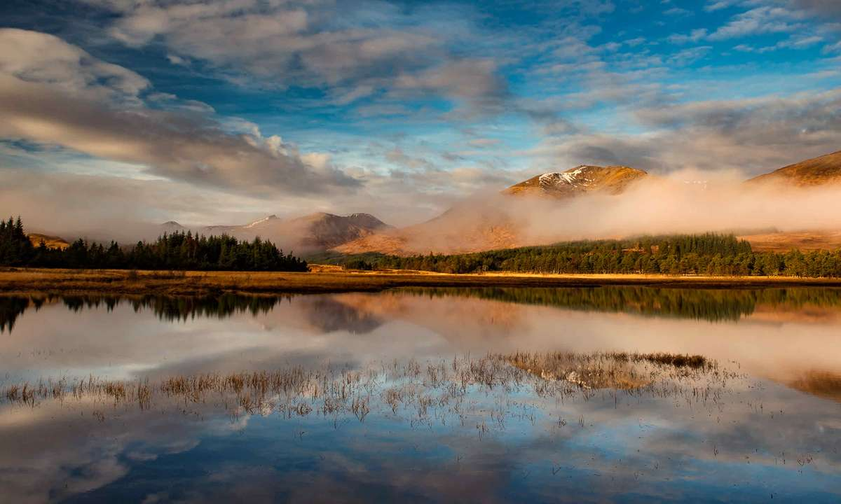 Loch Tulla near the Bridge of Orchy, Glencoe (Phil Malpas)