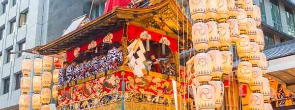 A float in Gion Matsuri, Kyoto, Japan (Shutterstock)