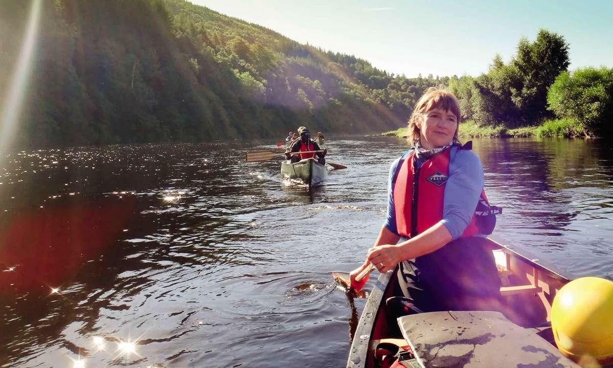 Open Canoeing in Scotland (Wilderness Scotland)