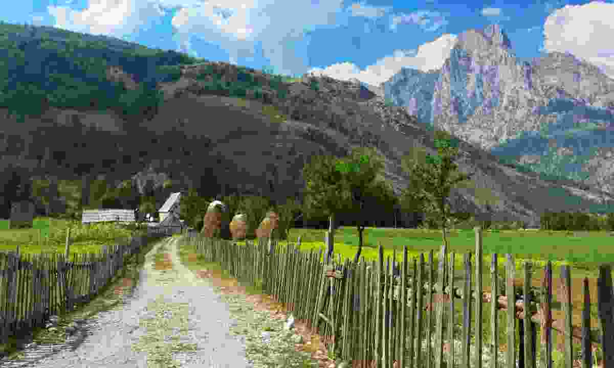 Rural life in the Albanian Alps (Dreamstime)