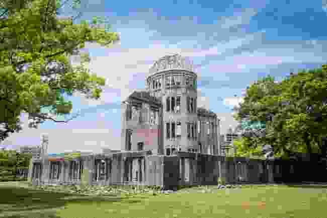 The A-Bomb Dome, Hiroshima, Japan (Shutterstock)