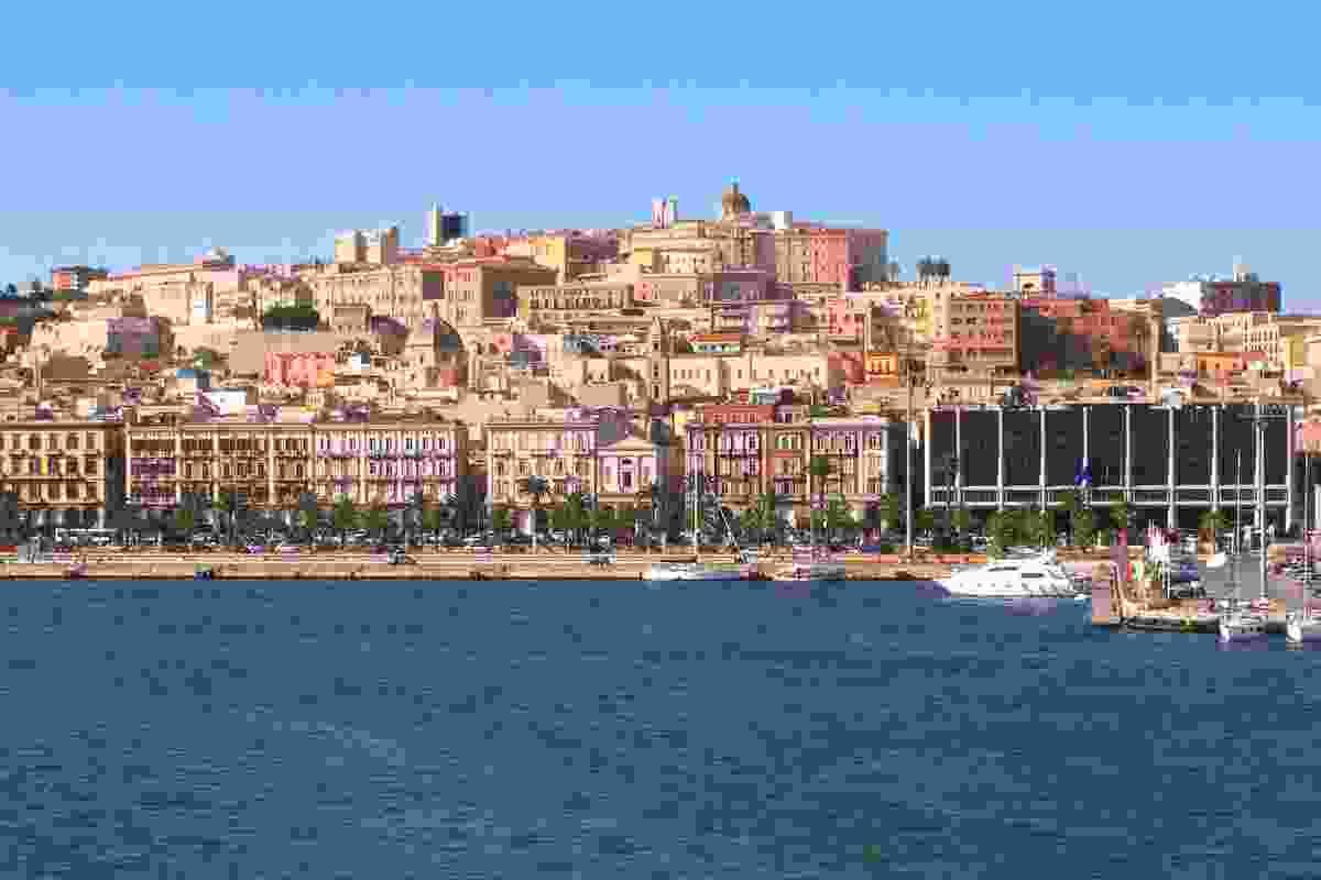 Cagliari waterfront (Dreamstime)