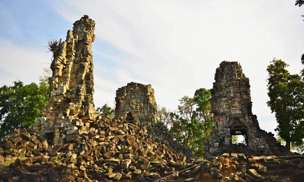Banteay Top Satellite Temple (Mark Stratton)
