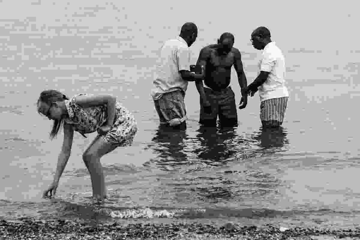 Baptism at Southend-on-Sea, UK (Derren Brown)