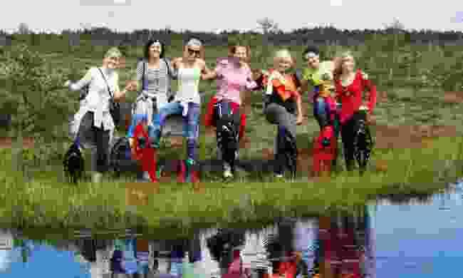 Bog walkers (VisitEstonia.com)