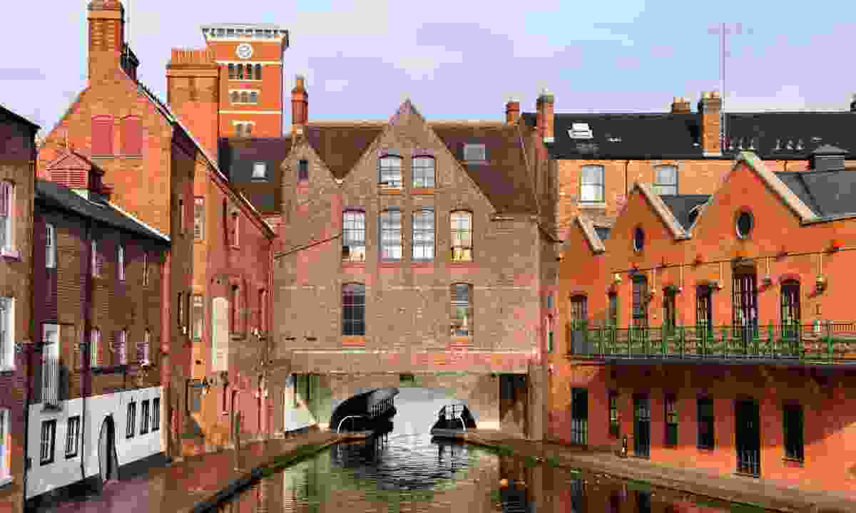 The canals of Birmingham (Dreamstime)