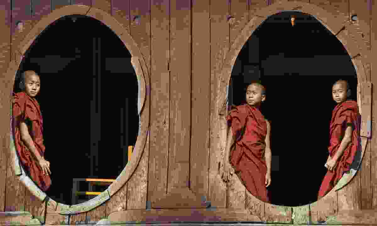 Young novices in Burma (Dreamstime)