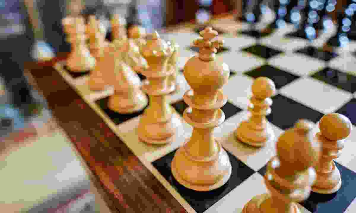 A chess board (Dreamstime)