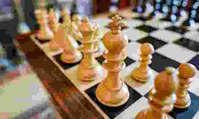 A chess board (Dreamstime)