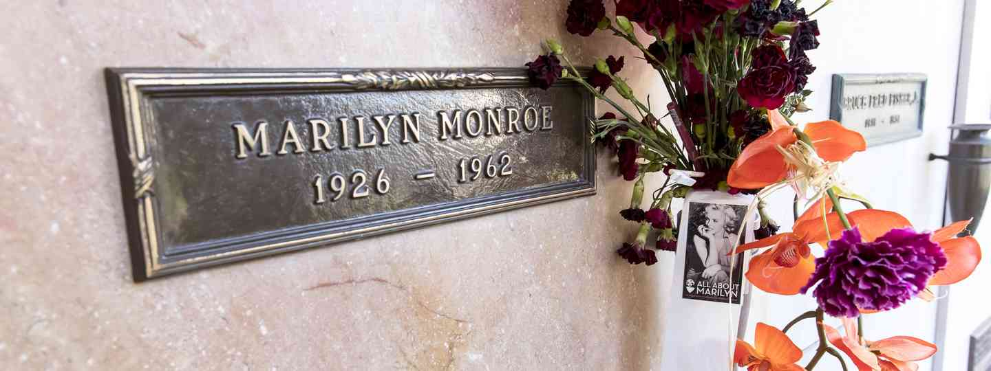 Marilyn Monroe's crypt (Dreamstime)