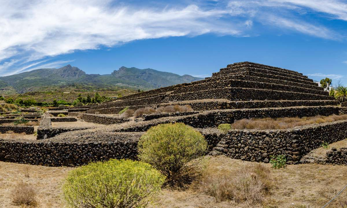 The Pyramids of Guimar on Tenerife (Dreamstime)