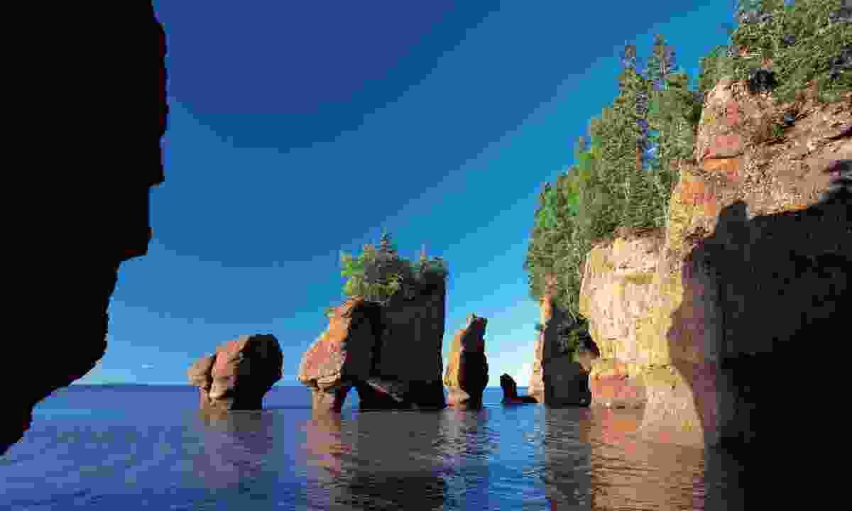 Hopewell Rocks in New Brunswick (Dreamstime)