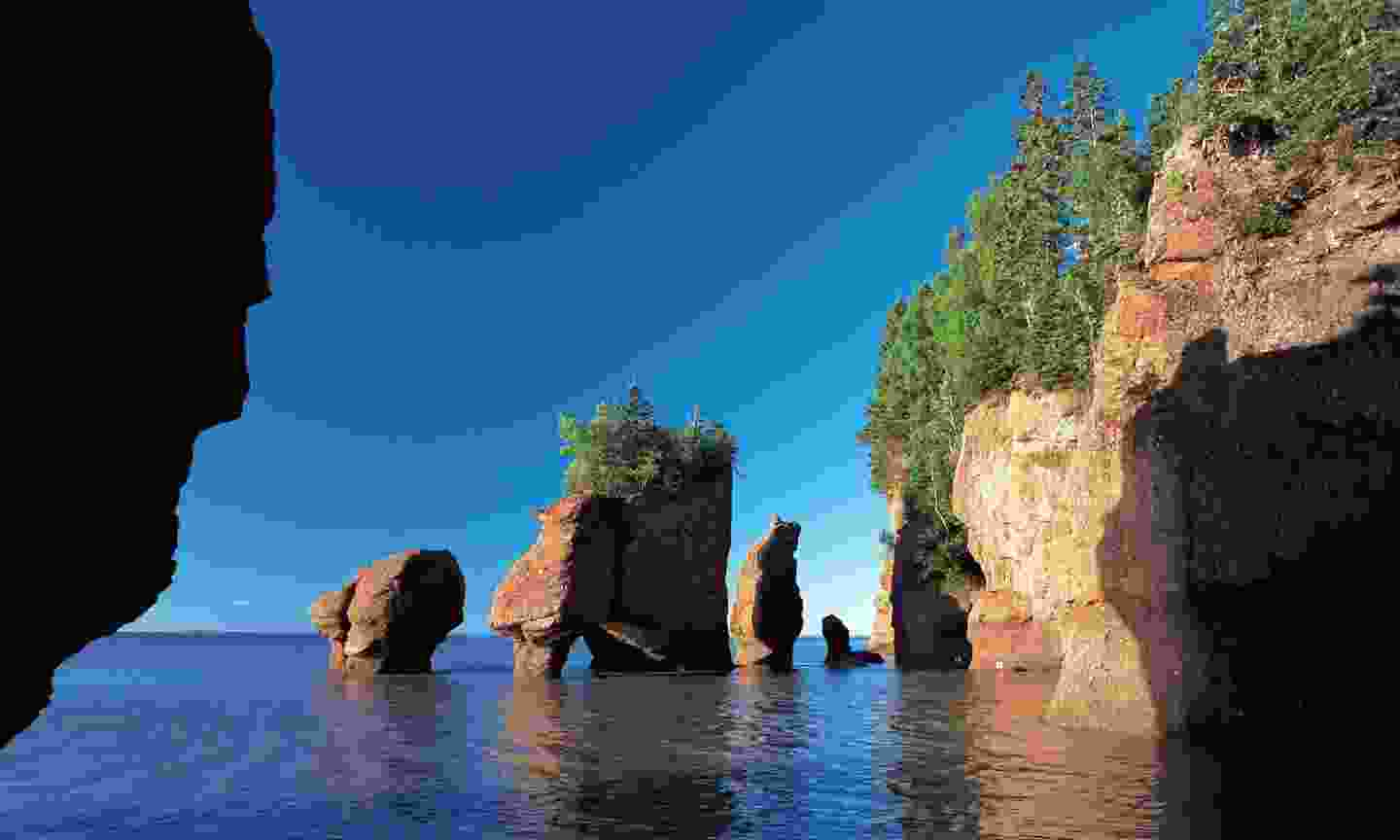 Hopewell Rocks in New Brunswick (Dreamstime)