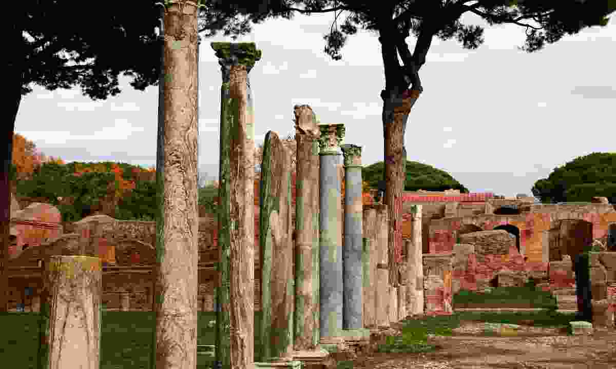 Ruins of Ostia Antica (Dreamstime)
