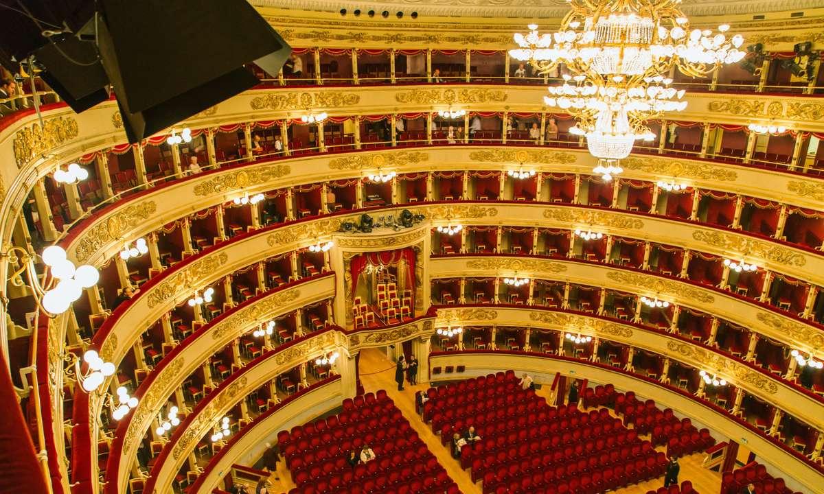 The auditorium, La Scala (Dreamstime)