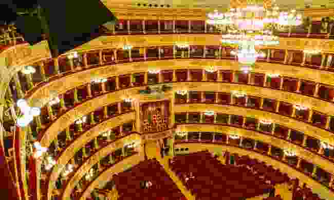 The auditorium, La Scala (Dreamstime)