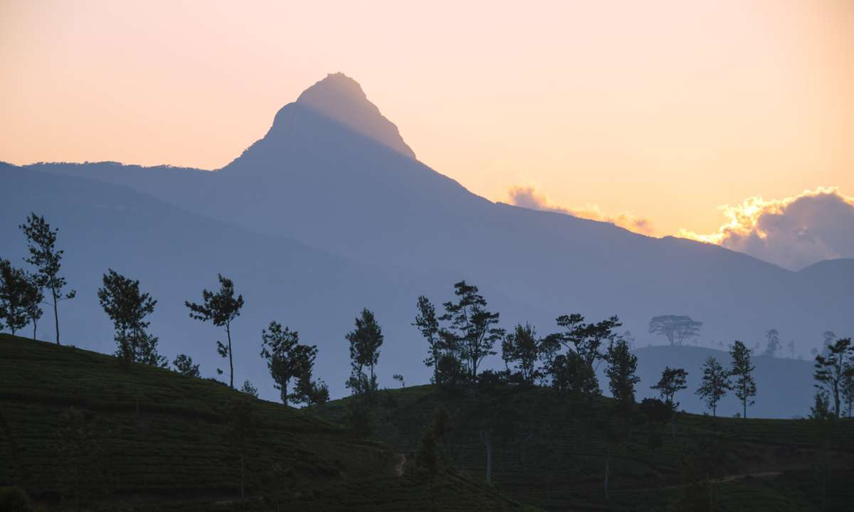 Adam's Peak at sunrise (Dreamstime)