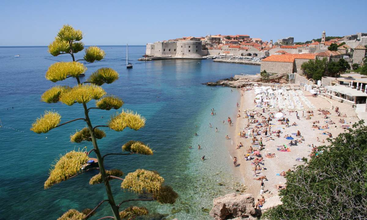 Dubrovnik from the south (Dreamstime)