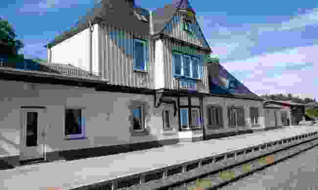 The railway station is cheerful enough (Dreamstime)