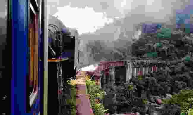 View along the Nilgiri Mountain Railway (Dreamstime)