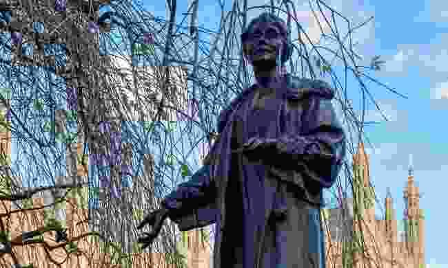 Statue of Emmeline Pankhurst, Victoria Tower (Dreamstime)