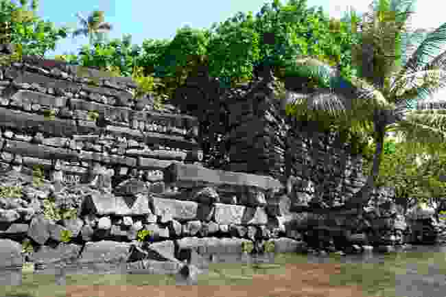 Mysterious ruins of Nan Madol (Shutterstock)